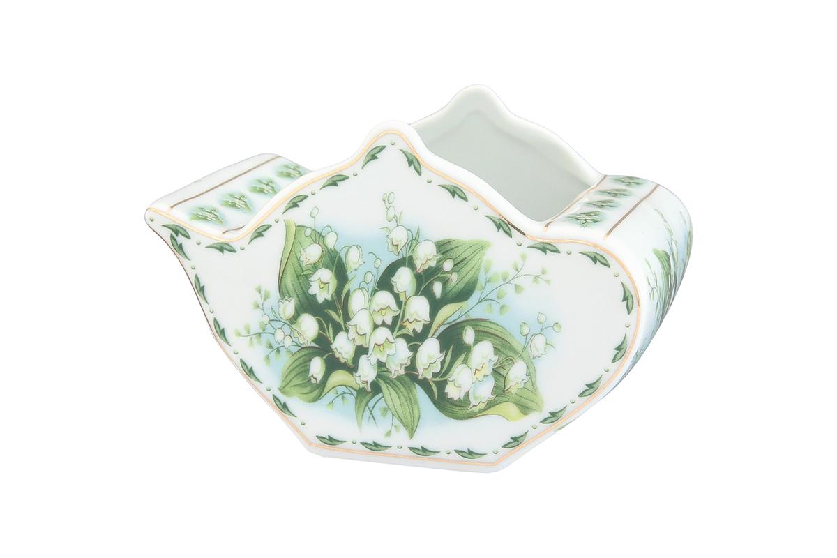 Подставка сервировочная для чайных пакетиков Elan Gallery Чайник. Ландыши, 12 х 9 х 8 см503994У Вас большая семья, Вы любите пить разный чай. Подставка для чайных пакетиков это, что Вам нужно. Теперь не нужно долго искать, какой чай Вам выбрать. Просто положите пакетики с разным чаем в компактную и красивую подставку. Выберите ту, которая подойдет к Вашему интерьеру. Изделие имеет подарочную упаковку.