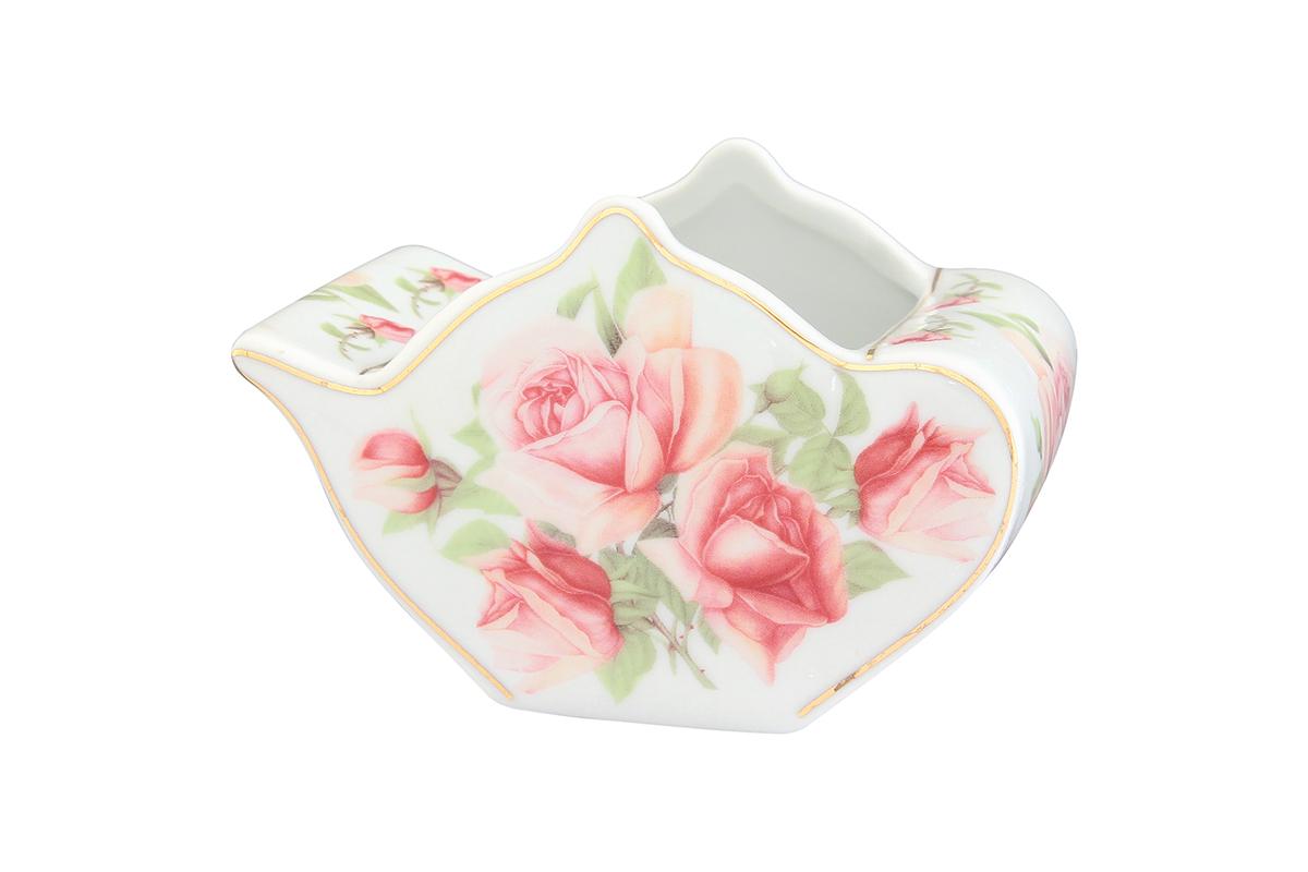 Подставка сервировочная для чайных пакетиков Elan Gallery Чайник. Розовая фантазия, 12 х 9 х 8 см504007Сервировочная подставка для чайных пакетиков Elan Gallery Чайник. Розовая фантазия, изготовленная из высококачественной керамики, порадует вас оригинальностью и дизайном. Изделие имеет изысканный внешний вид. Такая подставка, несомненно, понравится любой хозяйке и украсит интерьер любой кухни!