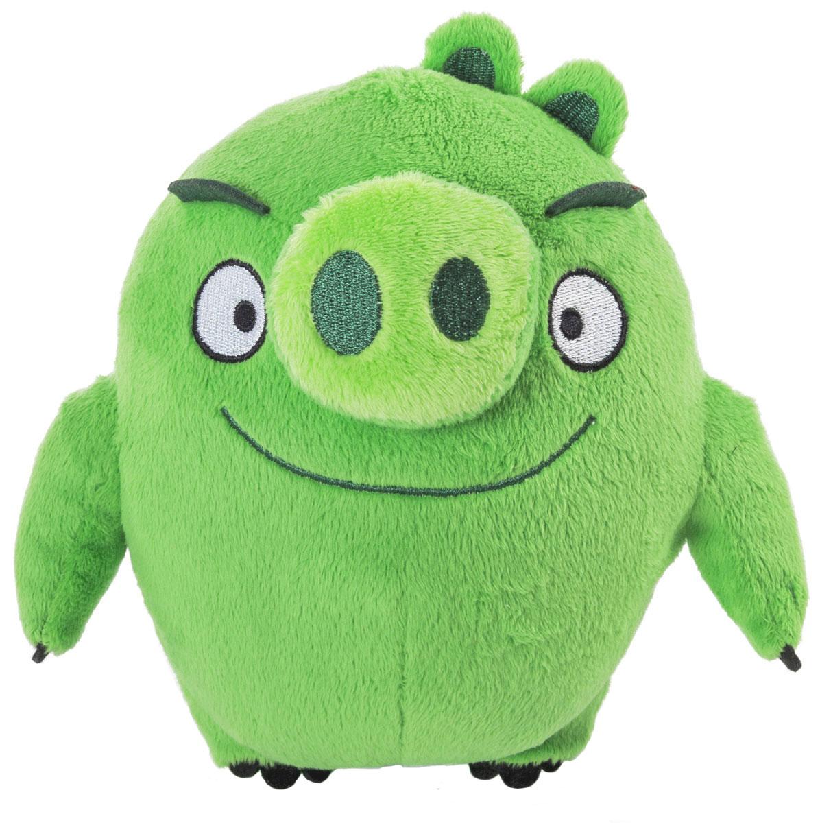 Angry Birds Мягкая игрушка Свинья 20 см90512_зелёныйAngry Birds - одна из самых популярных игр на мобильных устройствах. Яркие и запоминающиеся персонажи этой аркады уже давно полюбились многочисленным фанатам. Невероятно приятная на ощупь игрушка выполнена в виде главного злодея и отрицательного персонажа игры - зеленой свинки. Игрушка выполнена из качественных и безопасных материалов. Свинка обязательно порадует вас и вашего малыша.