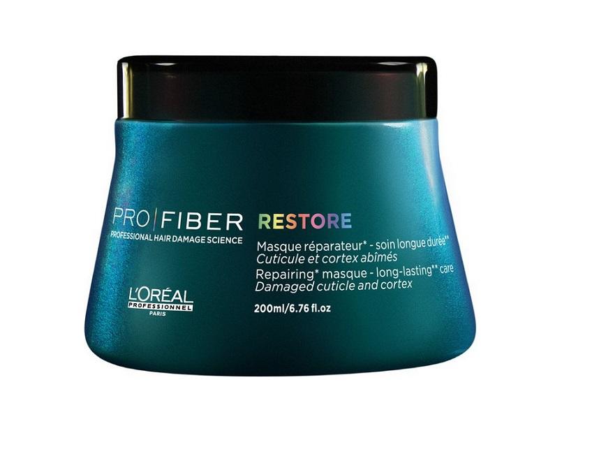 LOreal Professionnel Маска для восстановления волос Pro Fiber Restore Mask, 200 млE1545600Профессиональный уход за волосами обеспечивает им непревзойденный, шикарный вид. Для достижения такого результата не обязательно каждый раз посещать салон. Можно воспользоваться специальными средствами от французского бренда LOreal Professionnel. Восстановить поврежденную структуру волос поможет маска Pro Fiber Restore Mask. Это средство обильно питает пряди от корней до кончиков, подходит для ухода за длинными и короткими волосами. Придает блеск и мягкость, разглаживает и снимает чрезмерное пушение. После применения волосы выглядят здоровыми, поражают мягкостью и шелковистостью. Активные компоненты маски: комплекс Aptyl 100 и миносилан. Миносилан — силиконовое соединение кремния для связывания внутренних слоев волоса в трехмерную сеть — предназначен для укрепления и восстановления поврежденной структуры волос. Уникальный катионный полимер покрывает кутикулу волоса защитной пленкой и «герметизируюет» комплекс Aptyl 100 внутри волоса. Ваши волосы великолепны!