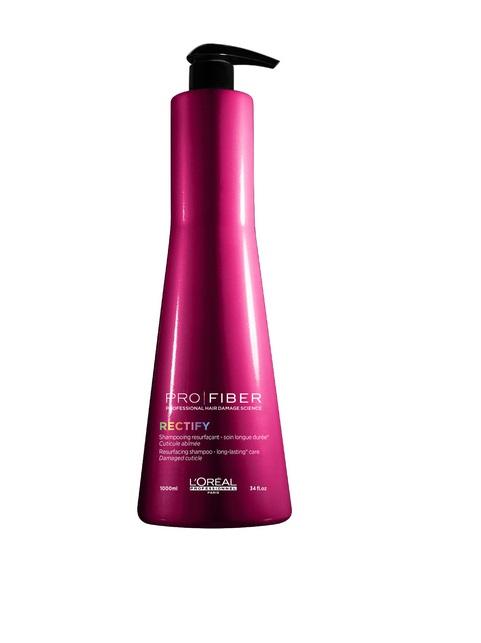 LOreal Professionnel Шампунь с продолжительным действием Expert Pro Fiber Rectify Shampo, 1000 млLE1547800Шампунь с продолжительным действием для возобновления результатов Салонной услуги ухода для поврежденных волос. Уровень повреждения: повреждена поверхность волоса. Шампунь разработан благодаря инновационной технологии восстановлении материи волоса, усиливает эффект от салонной услуги ухода Pro-Fiber. Результат: - Материя волос однородна от корней до кончиков. - Волосы невероятно мягкие, блестящие, струящиеся, легкие.