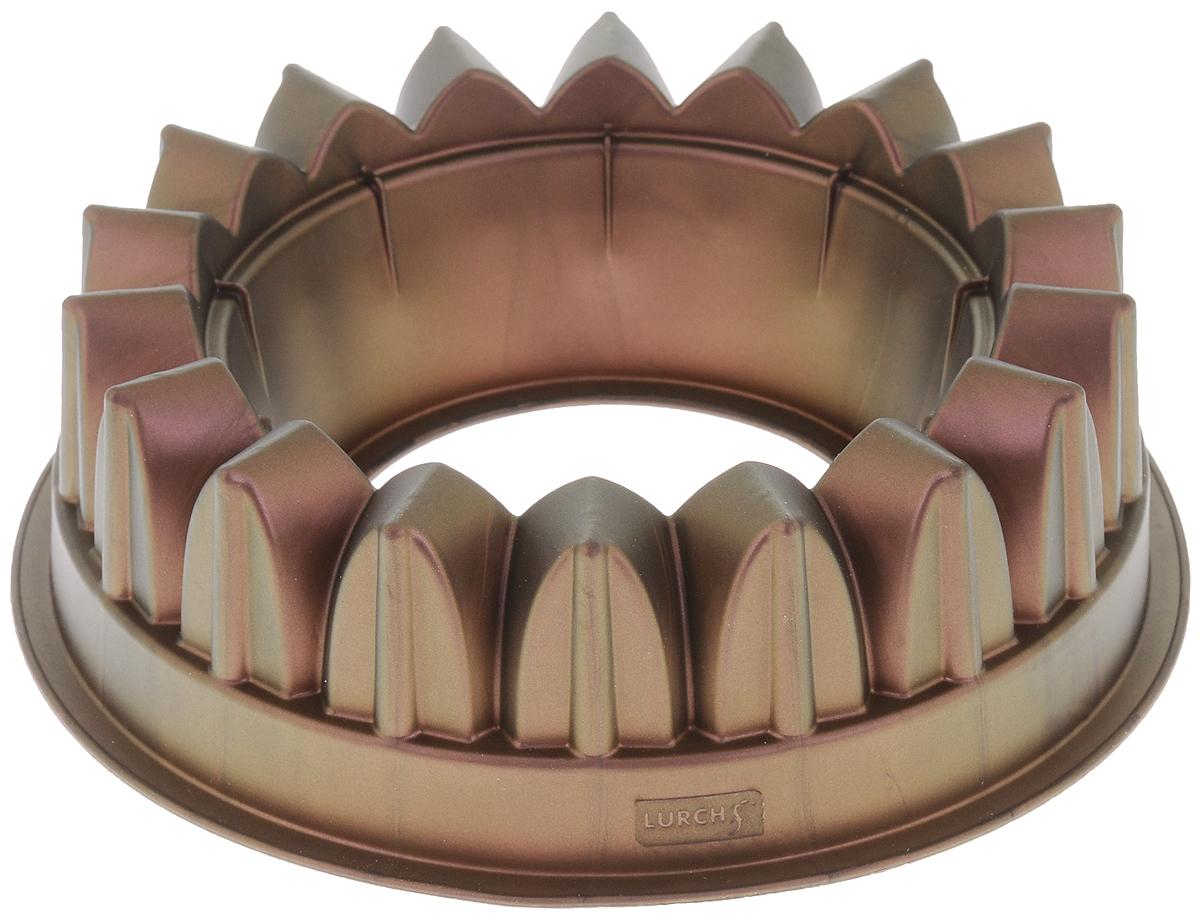 Форма для выпечки Lurch Flexi Form, силиконовая, цвет: хамелеон, диаметр 22,5 см66000Форма для выпечки Lurch Flexi Form изготовлена из 100% платинового силикона. Стенки формы легко гнутся, что позволяет легко достать готовую выпечку и сохранить аккуратный внешний вид блюда. Платиновый силикон - материал, который обладает антипригарным эффектом и выдерживает температуру от -60° С до +260°С. Изделия из силикона очень удобны в использовании: пища в них не пригорает и не прилипает к стенкам, форма легко моется. Приготовленное блюдо можно с легкостью вытащить, просто перевернув форму, при этом внешний вид блюда не нарушится. Изделие обладает эластичными свойствами: складывается без изломов, восстанавливает свою первоначальную форму. Порадуйте своих родных и близких любимой выпечкой в необычном исполнении. Подходит для приготовления в микроволновой печи и духовом шкафу при нагревании до +260°С; для замораживания до -60°. Можно мыть в посудомоечной машине. Диаметр формы: 22,5 см. Высота стенки...
