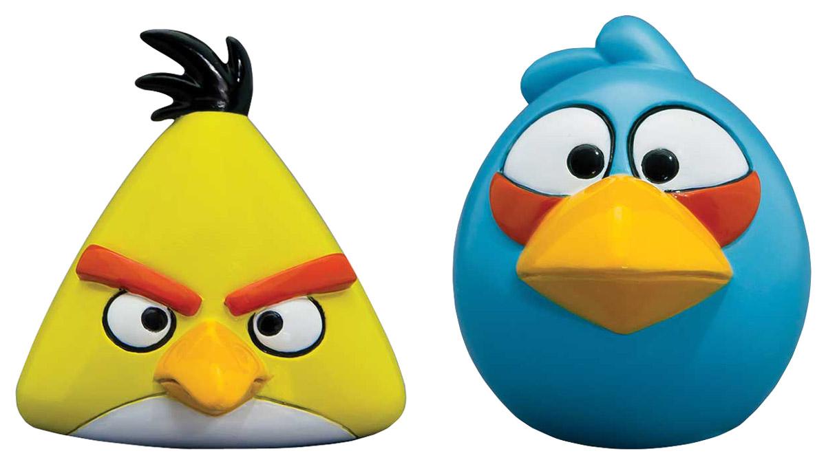 Angry Birds Игрушка-мялка цвет желтый голубой 2 шт50281-0000012-01_желтый, голубойИгрушка-мялка Angry Birds - это антистрессовая игрушка-мялка, выполненная в виде персонажа всеми любимой игры Angry Birds. Игрушка изготовлена из термопластичной резины, внутри которой находится вода, благодаря чему она легко изменяет форму и структуру при приложении к ней физической силы, а затем принимает первоначальный вид. В набор входят 2 птички-мялки.