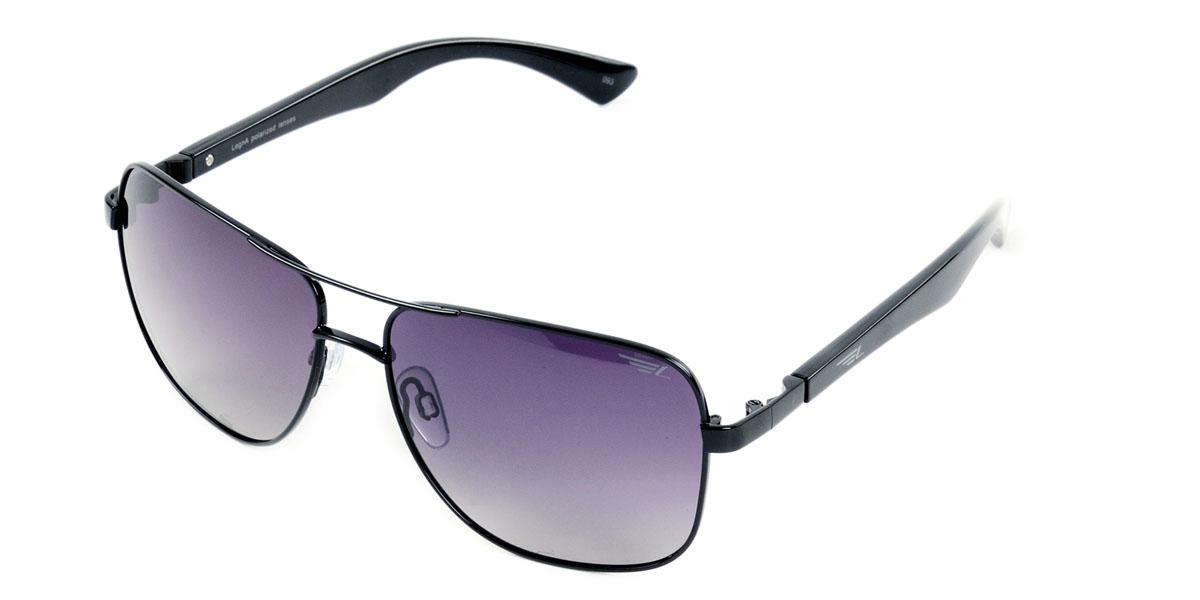 Очки поляризационные Legna, цвет: черный. S4405AS4405AСтильные солнцезащитные очки Legna сделают приятной прогулку в жаркий солнечный полдень. Их также по достоинству оценят водители, так как эта модель очков оснащена уникальными поляризационными линзами, которые задерживают раздражающие блики, что гарантирует полный зрительный комфорт и, как результат, повышенную безопасность. Высокоэффективный встроенный УФ фильтр обеспечивает совершенную защиту от вредных ультрафиолетовых лучей Кроме того, это эффектный аксессуар, который наверняка станет «изюминкой» вашего индивидуального стиля. Оправа не только красивая, но и прочная, а линзы со временем не покроются мелкими царапинами. Чистка и обслуживание: Вымыть теплой водой, вытереть мягкой сухой салфеткой. Условия хранения: в футляре при нормальных климатических условиях. Предупреждение: Не использовать в солярии, не смотреть на прямые солнечные лучи, не использовать при управлении автомобилем в сумерках и ночью.