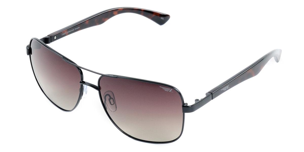Очки поляризационные Legna, цвет: коричневый. S4405BS4405BСтильные солнцезащитные очки Legna S4501A сделают приятной прогулку в жаркий солнечный полдень. Их также по достоинству оценят водители, так как эта модель очков оснащена уникальными поляризационными линзами, которые задерживают раздражающие блики, что гарантирует полный зрительный комфорт и, как результат, повышенную безопасность. Высокоэффективный встроенный УФ фильтр обеспечивает совершенную защиту от вредных ультрафиолетовых лучей Кроме того, это эффектный аксессуар, который наверняка станет «изюминкой» вашего индивидуального стиля. Оправа не только красивая, но и прочная, а линзы со временем не покроются мелкими царапинами. Чистка и обслуживание: Вымыть теплой водой, вытереть мягкой сухой салфеткой. Условия хранения: в футляре при нормальных климатических условиях. Предупреждение: Не использовать в солярии, не смотреть на прямые солнечные лучи, не использовать при управлении автомобилем в сумерках и ночью.