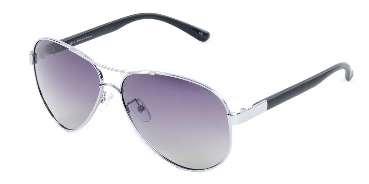 Очки поляризационные Legna, цвет: черный. S4409AS4409AСтильные солнцезащитные очки Legna сделают приятной прогулку в жаркий солнечный полдень. Их также по достоинству оценят водители, так как эта модель очков оснащена уникальными поляризационными линзами, которые задерживают раздражающие блики, что гарантирует полный зрительный комфорт и, как результат, повышенную безопасность. Высокоэффективный встроенный УФ фильтр обеспечивает совершенную защиту от вредных ультрафиолетовых лучей Кроме того, это эффектный аксессуар, который наверняка станет «изюминкой» вашего индивидуального стиля. Оправа не только красивая, но и прочная, а линзы со временем не покроются мелкими царапинами. Чистка и обслуживание: Вымыть теплой водой, вытереть мягкой сухой салфеткой. Условия хранения: в футляре при нормальных климатических условиях. Предупреждение: Не использовать в солярии, не смотреть на прямые солнечные лучи, не использовать при управлении автомобилем в сумерках и ночью.