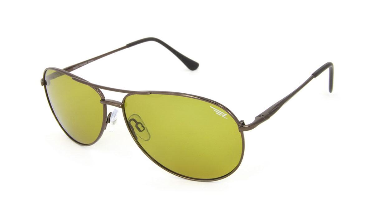 Очки поляризационные Legna, цвет: желтый. S4506BS4506BСтильные солнцезащитные очки Legna сделают приятной прогулку в жаркий солнечный полдень. Их также по достоинству оценят водители, так как эта модель очков оснащена уникальными поляризационными линзами, которые задерживают раздражающие блики, что гарантирует полный зрительный комфорт и, как результат, повышенную безопасность. Высокоэффективный встроенный УФ фильтр обеспечивает совершенную защиту от вредных ультрафиолетовых лучей Кроме того, это эффектный аксессуар, который наверняка станет «изюминкой» вашего индивидуального стиля. Оправа не только красивая, но и прочная, а линзы со временем не покроются мелкими царапинами. Чистка и обслуживание: Вымыть теплой водой, вытереть мягкой сухой салфеткой. Условия хранения: в футляре при нормальных климатических условиях. Предупреждение: Не использовать в солярии, не смотреть на прямые солнечные лучи, не использовать при управлении автомобилем в сумерках и ночью.