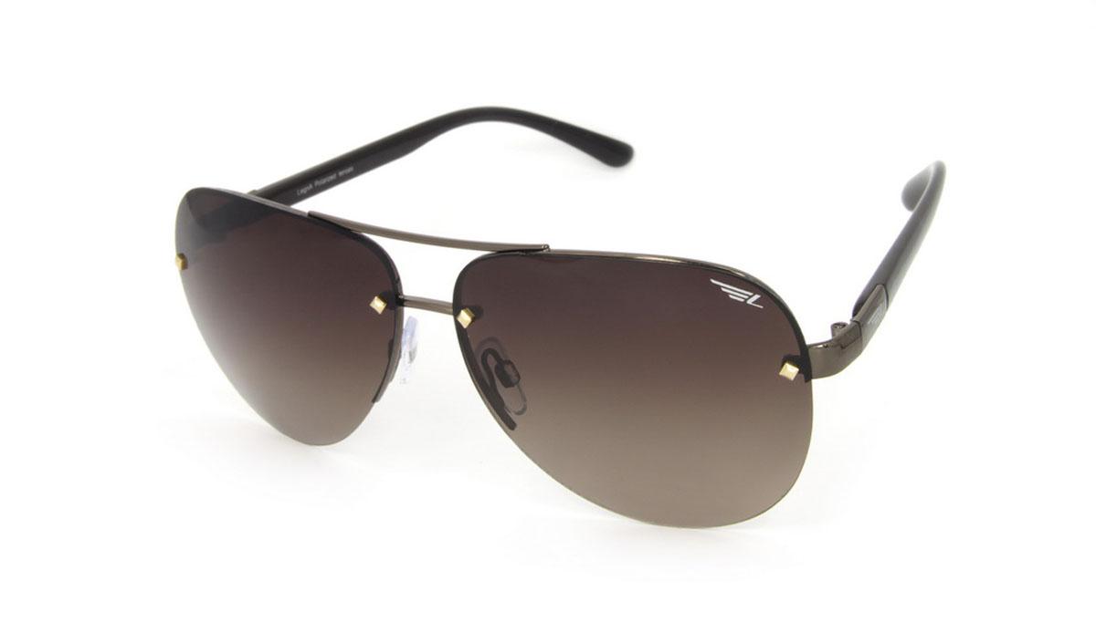 Очки поляризационные Legna, цвет: коричневый. S4509BS4509BСтильные солнцезащитные очки Legna сделают приятной прогулку в жаркий солнечный полдень. Их также по достоинству оценят водители, так как эта модель очков оснащена уникальными поляризационными линзами, которые задерживают раздражающие блики, что гарантирует полный зрительный комфорт и, как результат, повышенную безопасность. Высокоэффективный встроенный УФ фильтр обеспечивает совершенную защиту от вредных ультрафиолетовых лучей Кроме того, это эффектный аксессуар, который наверняка станет «изюминкой» вашего индивидуального стиля. Оправа не только красивая, но и прочная, а линзы со временем не покроются мелкими царапинами. Чистка и обслуживание: Вымыть теплой водой, вытереть мягкой сухой салфеткой. Условия хранения: в футляре при нормальных климатических условиях. Предупреждение: Не использовать в солярии, не смотреть на прямые солнечные лучи, не использовать при управлении автомобилем в сумерках и ночью.