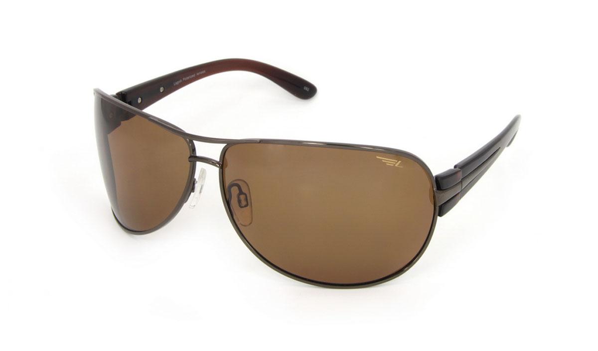 Очки поляризационные Legna, цвет: коричневый. S7210BS7210BСтильные солнцезащитные очки Legna сделают приятной прогулку в жаркий солнечный полдень. Их также по достоинству оценят водители, так как эта модель очков оснащена уникальными поляризационными линзами, которые задерживают раздражающие блики, что гарантирует полный зрительный комфорт и, как результат, повышенную безопасность. Высокоэффективный встроенный УФ фильтр обеспечивает совершенную защиту от вредных ультрафиолетовых лучей Кроме того, это эффектный аксессуар, который наверняка станет «изюминкой» вашего индивидуального стиля. Оправа не только красивая, но и прочная, а линзы со временем не покроются мелкими царапинами. Чистка и обслуживание: Вымыть теплой водой, вытереть мягкой сухой салфеткой. Условия хранения: в футляре при нормальных климатических условиях. Предупреждение: Не использовать в солярии, не смотреть на прямые солнечные лучи, не использовать при управлении автомобилем в сумерках и ночью.