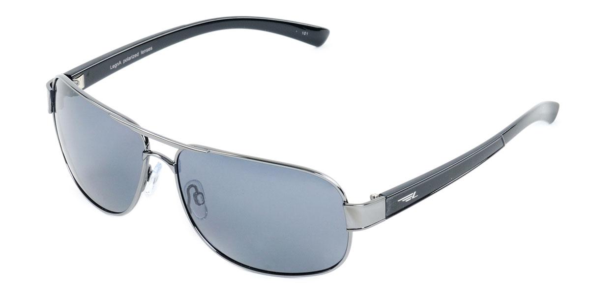 Очки поляризационные Legna, цвет: черный. S7213AS7213AСтильные солнцезащитные очки Legna сделают приятной прогулку в жаркий солнечный полдень. Их также по достоинству оценят водители, так как эта модель очков оснащена уникальными поляризационными линзами, которые задерживают раздражающие блики, что гарантирует полный зрительный комфорт и, как результат, повышенную безопасность. Высокоэффективный встроенный УФ фильтр обеспечивает совершенную защиту от вредных ультрафиолетовых лучей Кроме того, это эффектный аксессуар, который наверняка станет «изюминкой» вашего индивидуального стиля. Оправа не только красивая, но и прочная, а линзы со временем не покроются мелкими царапинами. Чистка и обслуживание: Вымыть теплой водой, вытереть мягкой сухой салфеткой. Условия хранения: в футляре при нормальных климатических условиях. Предупреждение: Не использовать в солярии, не смотреть на прямые солнечные лучи, не использовать при управлении автомобилем в сумерках и ночью.