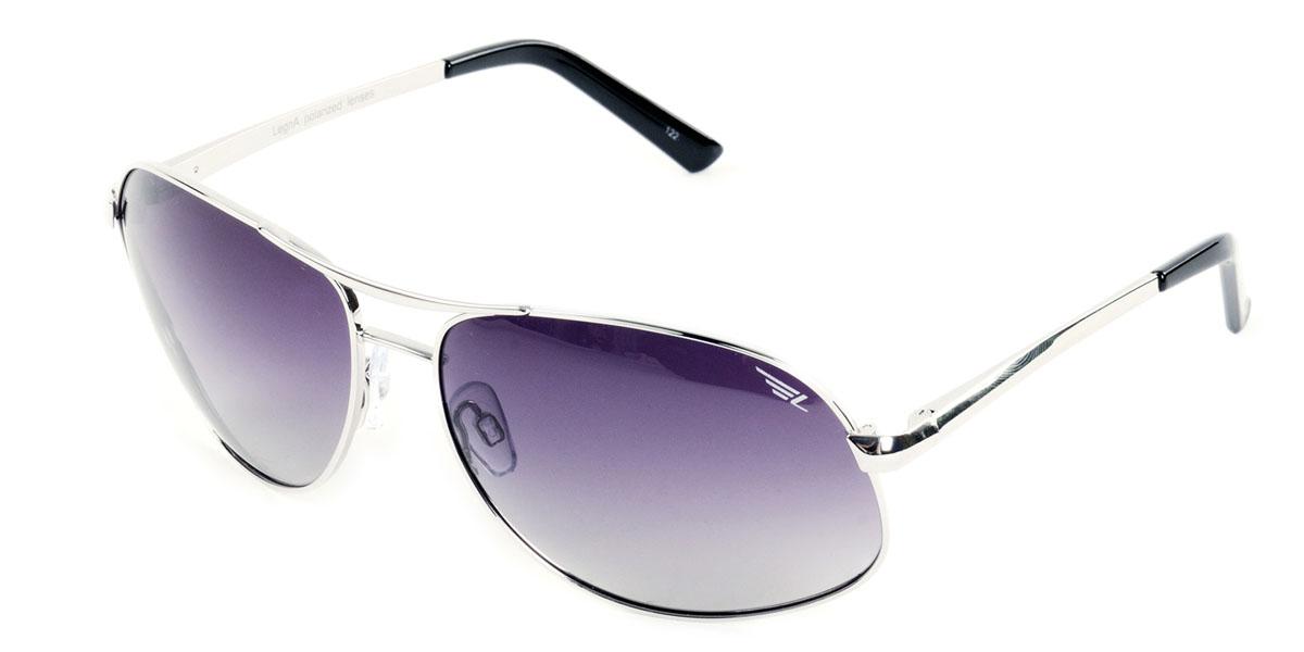 Очки поляризационные Legna, цвет: черный. S7224AS7224AСтильные солнцезащитные очки Legna сделают приятной прогулку в жаркий солнечный полдень. Их также по достоинству оценят водители, так как эта модель очков оснащена уникальными поляризационными линзами, которые задерживают раздражающие блики, что гарантирует полный зрительный комфорт и, как результат, повышенную безопасность. Высокоэффективный встроенный УФ фильтр обеспечивает совершенную защиту от вредных ультрафиолетовых лучей Кроме того, это эффектный аксессуар, который наверняка станет «изюминкой» вашего индивидуального стиля. Оправа не только красивая, но и прочная, а линзы со временем не покроются мелкими царапинами. Чистка и обслуживание: Вымыть теплой водой, вытереть мягкой сухой салфеткой. Условия хранения: в футляре при нормальных климатических условиях. Предупреждение: Не использовать в солярии, не смотреть на прямые солнечные лучи, не использовать при управлении автомобилем в сумерках и ночью.