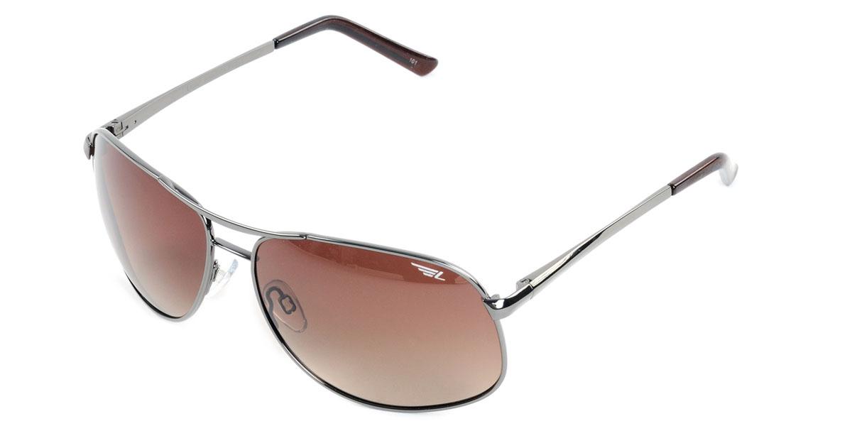 Очки поляризационные Legna, цвет: коричневый. S7224BS7224BСтильные солнцезащитные очки Legna сделают приятной прогулку в жаркий солнечный полдень. Их также по достоинству оценят водители, так как эта модель очков оснащена уникальными поляризационными линзами, которые задерживают раздражающие блики, что гарантирует полный зрительный комфорт и, как результат, повышенную безопасность. Высокоэффективный встроенный УФ фильтр обеспечивает совершенную защиту от вредных ультрафиолетовых лучей Кроме того, это эффектный аксессуар, который наверняка станет «изюминкой» вашего индивидуального стиля. Оправа не только красивая, но и прочная, а линзы со временем не покроются мелкими царапинами. Чистка и обслуживание: Вымыть теплой водой, вытереть мягкой сухой салфеткой. Условия хранения: в футляре при нормальных климатических условиях. Предупреждение: Не использовать в солярии, не смотреть на прямые солнечные лучи, не использовать при управлении автомобилем в сумерках и ночью.