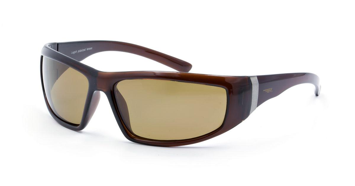 Очки мужские поляризационные Legna, цвет: коричневый. S8123DS8123DСтильные солнцезащитные очки Legna сделают приятной прогулку в жаркий солнечный полдень. Их также по достоинству оценят водители, так как эта модель очков оснащена уникальными поляризационными линзами, которые задерживают раздражающие блики, что гарантирует полный зрительный комфорт и, как результат, повышенную безопасность. Высокоэффективный встроенный УФ фильтр обеспечивает совершенную защиту от вредных ультрафиолетовых лучей Кроме того, это эффектный аксессуар, который наверняка станет «изюминкой» вашего индивидуального стиля. Оправа не только красивая, но и прочная, а линзы со временем не покроются мелкими царапинами. Чистка и обслуживание: Вымыть теплой водой, вытереть мягкой сухой салфеткой. Условия хранения: в футляре при нормальных климатических условиях. Предупреждение: Не использовать в солярии, не смотреть на прямые солнечные лучи, не использовать при управлении автомобилем в сумерках и ночью.