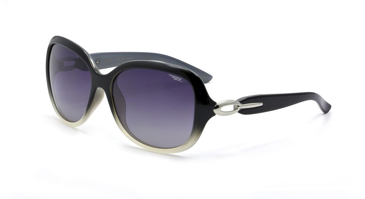 Очки женские поляризационные Legna, цвет: серый, черный. S8368AS8368AСтильные солнцезащитные очки Legna сделают приятной прогулку в жаркий солнечный полдень. Их также по достоинству оценят водители, так как эта модель очков оснащена уникальными поляризационными линзами, которые задерживают раздражающие блики, что гарантирует полный зрительный комфорт и, как результат, повышенную безопасность. Высокоэффективный встроенный УФ фильтр обеспечивает совершенную защиту от вредных ультрафиолетовых лучей Кроме того, это эффектный аксессуар, который наверняка станет «изюминкой» вашего индивидуального стиля. Оправа не только красивая, но и прочная, а линзы со временем не покроются мелкими царапинами. Чистка и обслуживание: Вымыть теплой водой, вытереть мягкой сухой салфеткой. Условия хранения: в футляре при нормальных климатических условиях. Предупреждение: Не использовать в солярии, не смотреть на прямые солнечные лучи, не использовать при управлении автомобилем в сумерках и ночью.