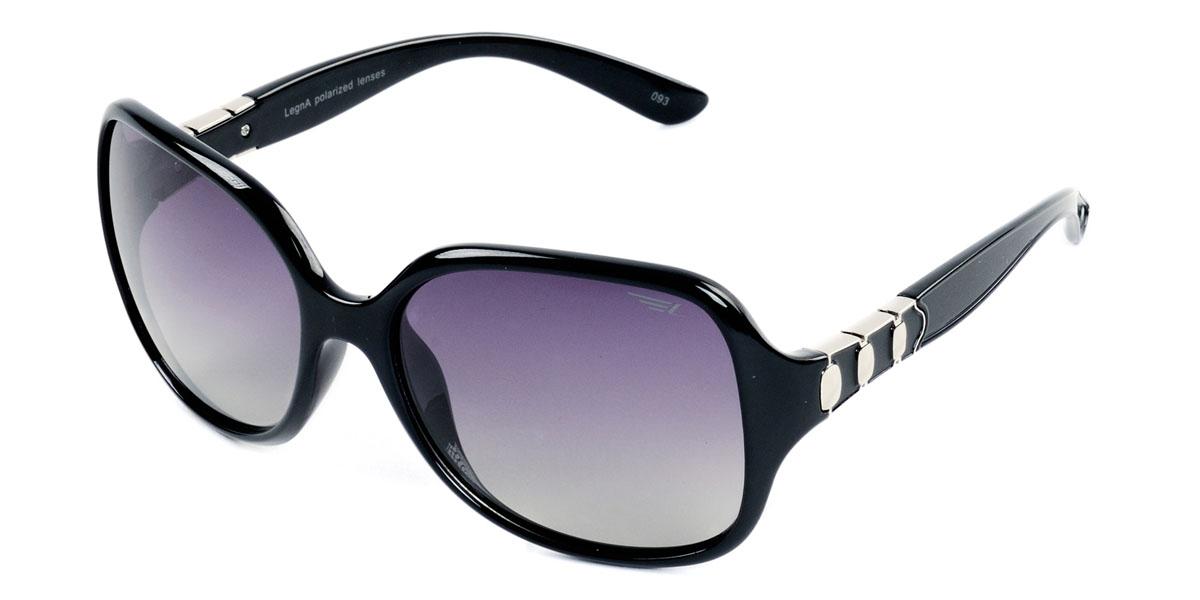 Очки женские поляризационные Legna, цвет: черный. S8405AS8405AСтильные солнцезащитные очки Legna сделают приятной прогулку в жаркий солнечный полдень. Их также по достоинству оценят водители, так как эта модель очков оснащена уникальными поляризационными линзами, которые задерживают раздражающие блики, что гарантирует полный зрительный комфорт и, как результат, повышенную безопасность. Высокоэффективный встроенный УФ фильтр обеспечивает совершенную защиту от вредных ультрафиолетовых лучей Кроме того, это эффектный аксессуар, который наверняка станет «изюминкой» вашего индивидуального стиля. Оправа не только красивая, но и прочная, а линзы со временем не покроются мелкими царапинами. Чистка и обслуживание: Вымыть теплой водой, вытереть мягкой сухой салфеткой. Условия хранения: в футляре при нормальных климатических условиях. Предупреждение: Не использовать в солярии, не смотреть на прямые солнечные лучи, не использовать при управлении автомобилем в сумерках и ночью.