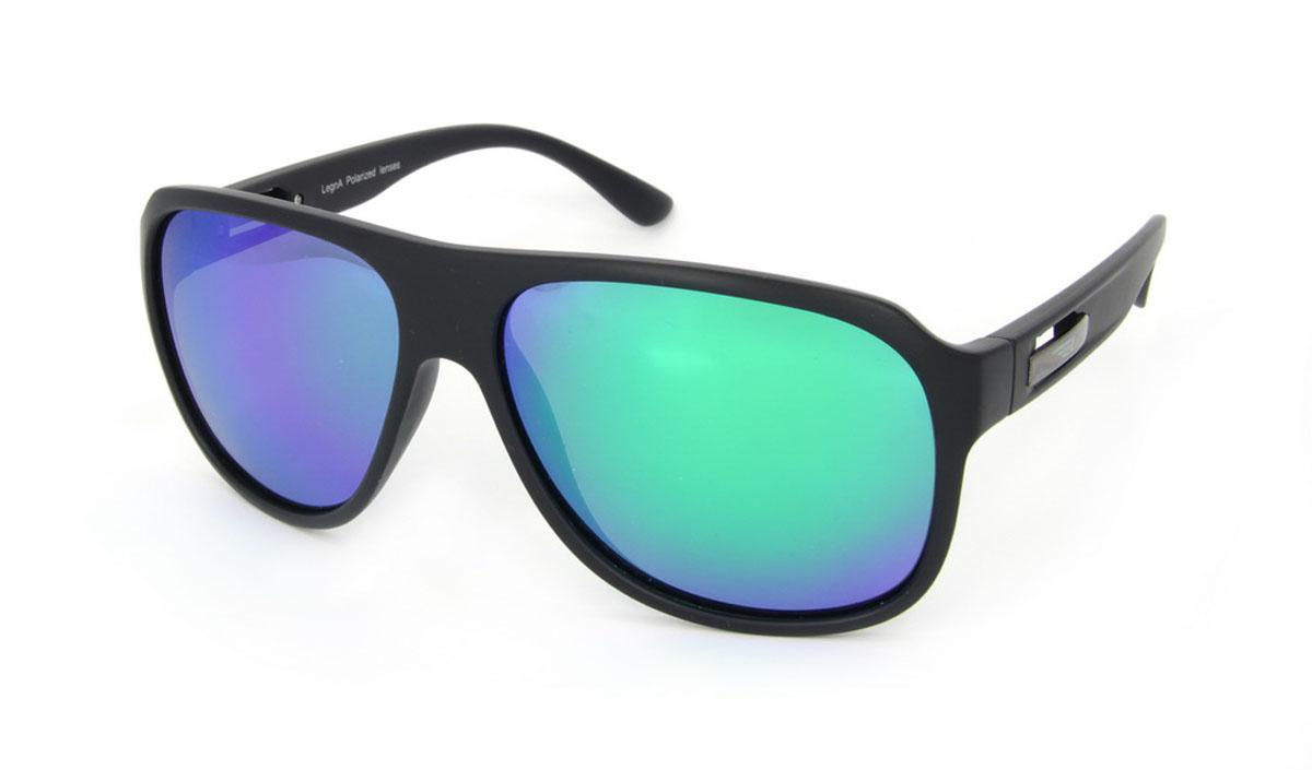 Очки поляризационные Legna, цвет: черный, зеленый. S8500AS8500AСтильные солнцезащитные очки Legna сделают приятной прогулку в жаркий солнечный полдень. Их также по достоинству оценят водители, так как эта модель очков оснащена уникальными поляризационными линзами, которые задерживают раздражающие блики, что гарантирует полный зрительный комфорт и, как результат, повышенную безопасность. Высокоэффективный встроенный УФ фильтр обеспечивает совершенную защиту от вредных ультрафиолетовых лучей Кроме того, это эффектный аксессуар, который наверняка станет «изюминкой» вашего индивидуального стиля. Оправа не только красивая, но и прочная, а линзы со временем не покроются мелкими царапинами. Чистка и обслуживание: Вымыть теплой водой, вытереть мягкой сухой салфеткой. Условия хранения: в футляре при нормальных климатических условиях. Предупреждение: Не использовать в солярии, не смотреть на прямые солнечные лучи, не использовать при управлении автомобилем в сумерках и ночью.