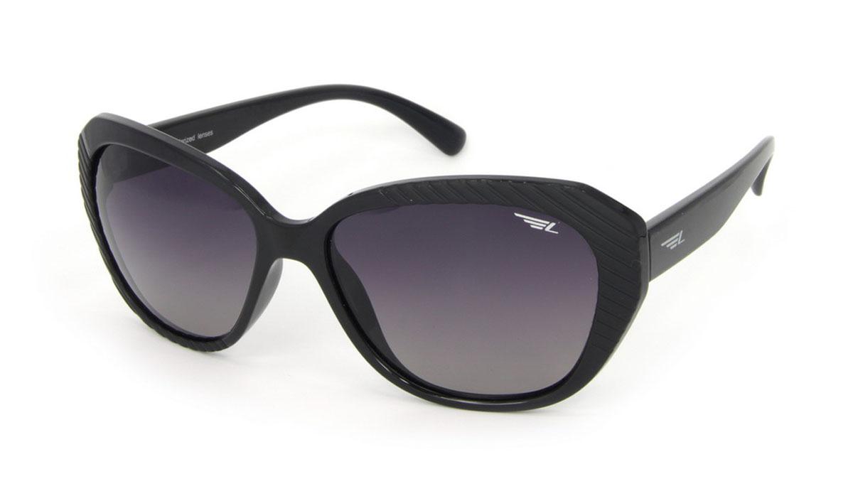 Очки женские поляризационные Legna, цвет: черный. S8502AS8502AСтильные солнцезащитные очки Legna сделают приятной прогулку в жаркий солнечный полдень. Их также по достоинству оценят водители, так как эта модель очков оснащена уникальными поляризационными линзами, которые задерживают раздражающие блики, что гарантирует полный зрительный комфорт и, как результат, повышенную безопасность. Высокоэффективный встроенный УФ фильтр обеспечивает совершенную защиту от вредных ультрафиолетовых лучей Кроме того, это эффектный аксессуар, который наверняка станет «изюминкой» вашего индивидуального стиля. Оправа не только красивая, но и прочная, а линзы со временем не покроются мелкими царапинами. Чистка и обслуживание: Вымыть теплой водой, вытереть мягкой сухой салфеткой. Условия хранения: в футляре при нормальных климатических условиях. Предупреждение: Не использовать в солярии, не смотреть на прямые солнечные лучи, не использовать при управлении автомобилем в сумерках и ночью.