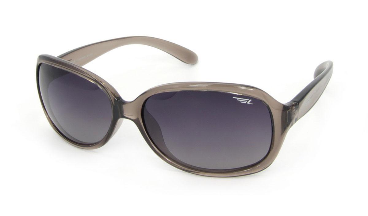 Очки женские поляризационные Legna, цвет: темно-серый. S8504AS8504AСтильные солнцезащитные очки Legna сделают приятной прогулку в жаркий солнечный полдень. Их также по достоинству оценят водители, так как эта модель очков оснащена уникальными поляризационными линзами, которые задерживают раздражающие блики, что гарантирует полный зрительный комфорт и, как результат, повышенную безопасность. Высокоэффективный встроенный УФ фильтр обеспечивает совершенную защиту от вредных ультрафиолетовых лучей Кроме того, это эффектный аксессуар, который наверняка станет «изюминкой» вашего индивидуального стиля. Оправа не только красивая, но и прочная, а линзы со временем не покроются мелкими царапинами. Чистка и обслуживание: Вымыть теплой водой, вытереть мягкой сухой салфеткой. Условия хранения: в футляре при нормальных климатических условиях. Предупреждение: Не использовать в солярии, не смотреть на прямые солнечные лучи, не использовать при управлении автомобилем в сумерках и ночью.