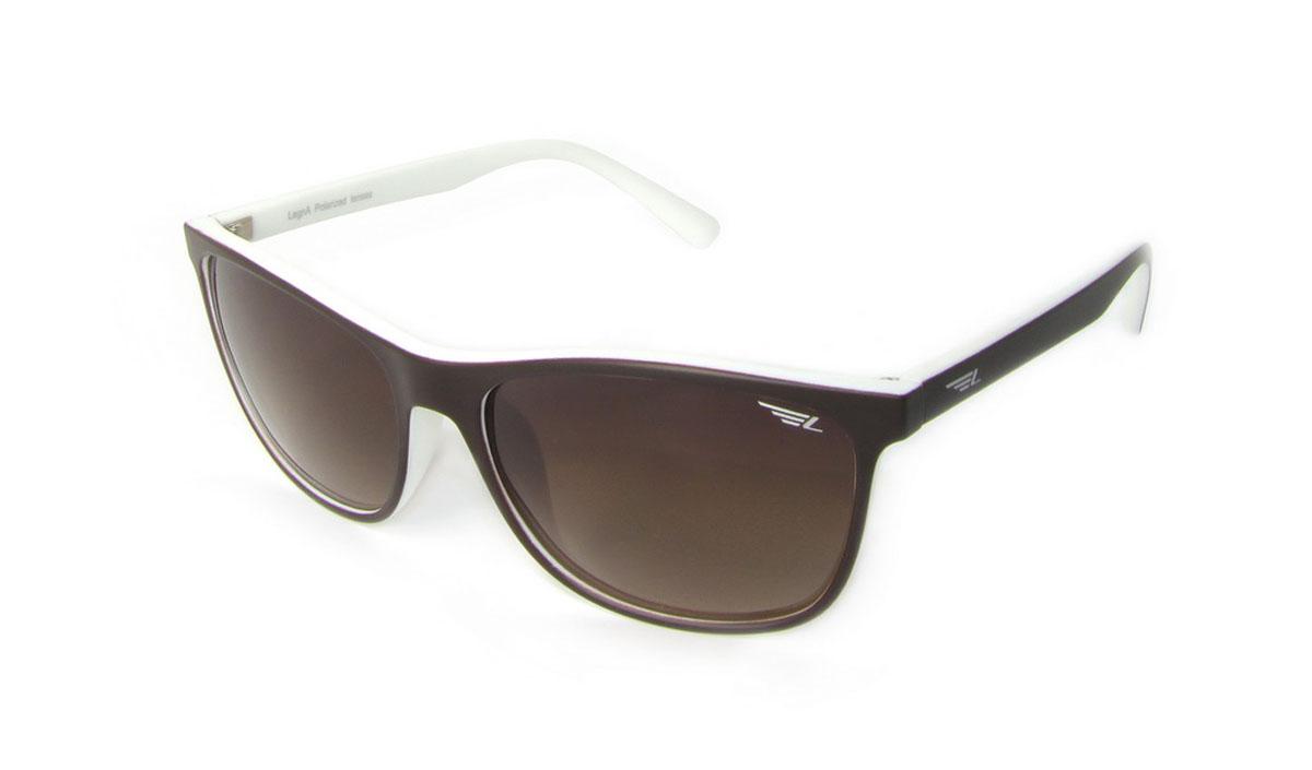 Очки поляризационные Legna, цвет: коричневый, белый. S8506AS8506AСтильные солнцезащитные очки Legna сделают приятной прогулку в жаркий солнечный полдень. Их также по достоинству оценят водители, так как эта модель очков оснащена уникальными поляризационными линзами, которые задерживают раздражающие блики, что гарантирует полный зрительный комфорт и, как результат, повышенную безопасность. Высокоэффективный встроенный УФ фильтр обеспечивает совершенную защиту от вредных ультрафиолетовых лучей Кроме того, это эффектный аксессуар, который наверняка станет «изюминкой» вашего индивидуального стиля. Оправа не только красивая, но и прочная, а линзы со временем не покроются мелкими царапинами. Чистка и обслуживание: Вымыть теплой водой, вытереть мягкой сухой салфеткой. Условия хранения: в футляре при нормальных климатических условиях. Предупреждение: Не использовать в солярии, не смотреть на прямые солнечные лучи, не использовать при управлении автомобилем в сумерках и ночью.