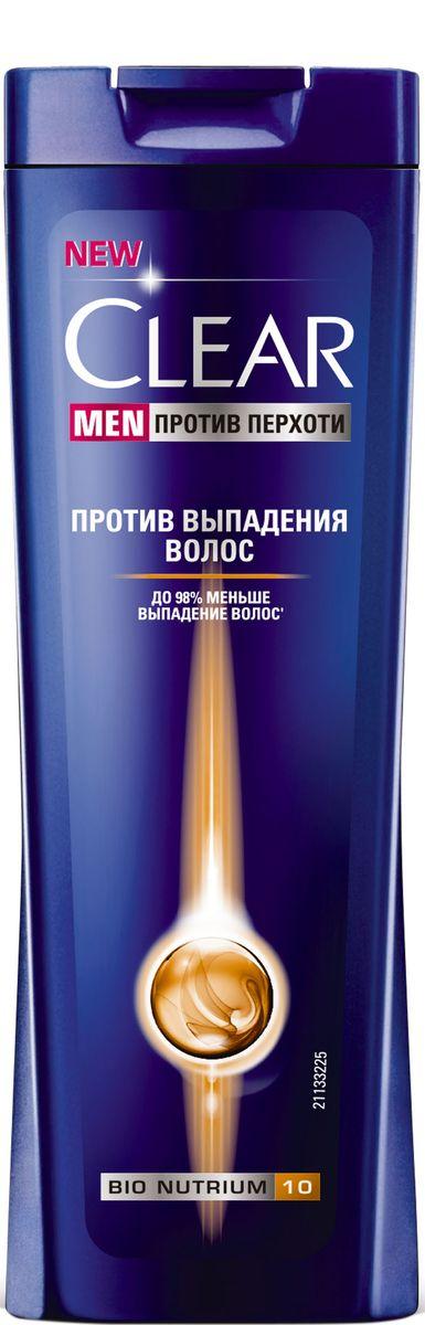Clear Men Шампунь против перхоти Против выпадения волос 400 мл