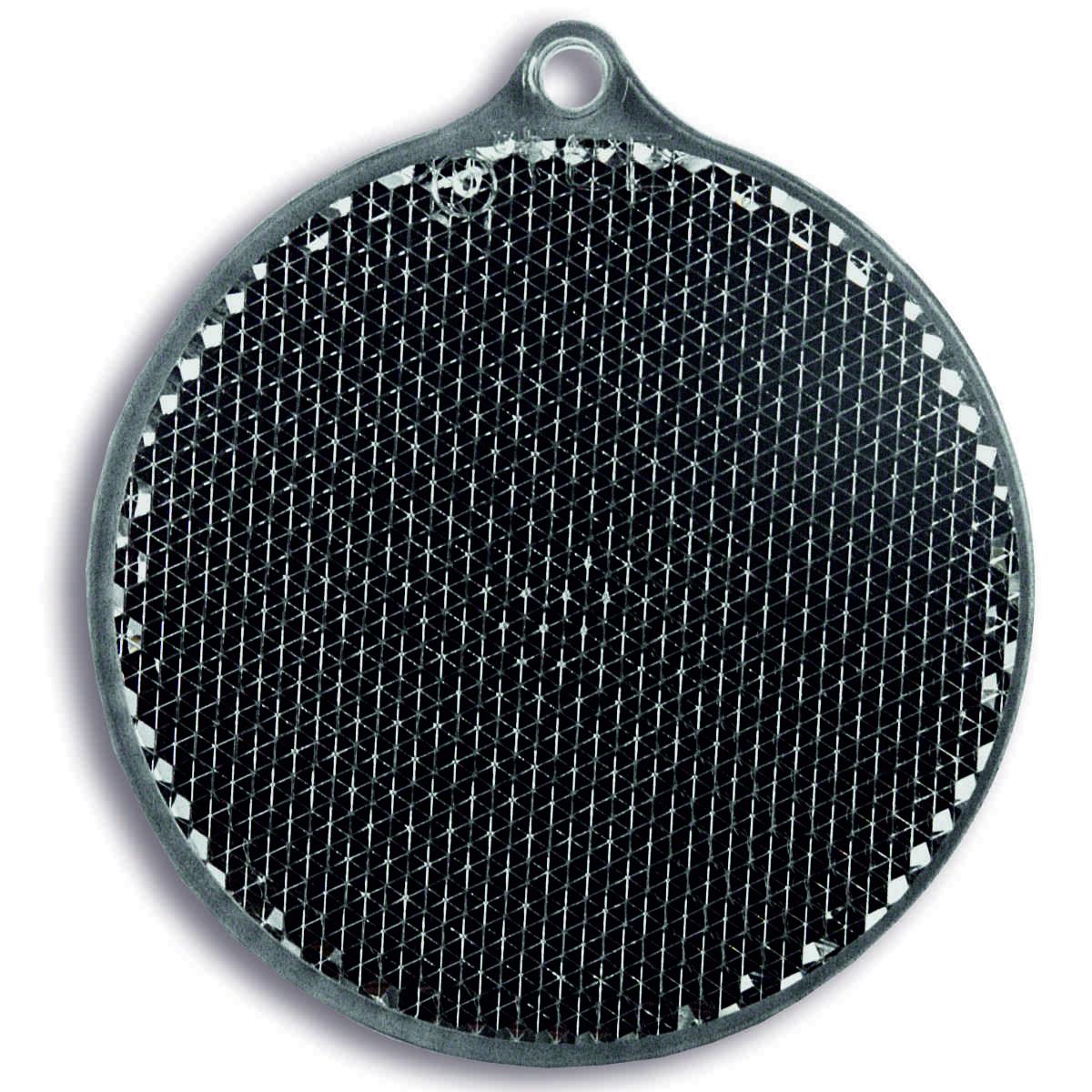 Мамасвет Светоотражатель пешеходный Круг цвет серый ( 51003.20 )