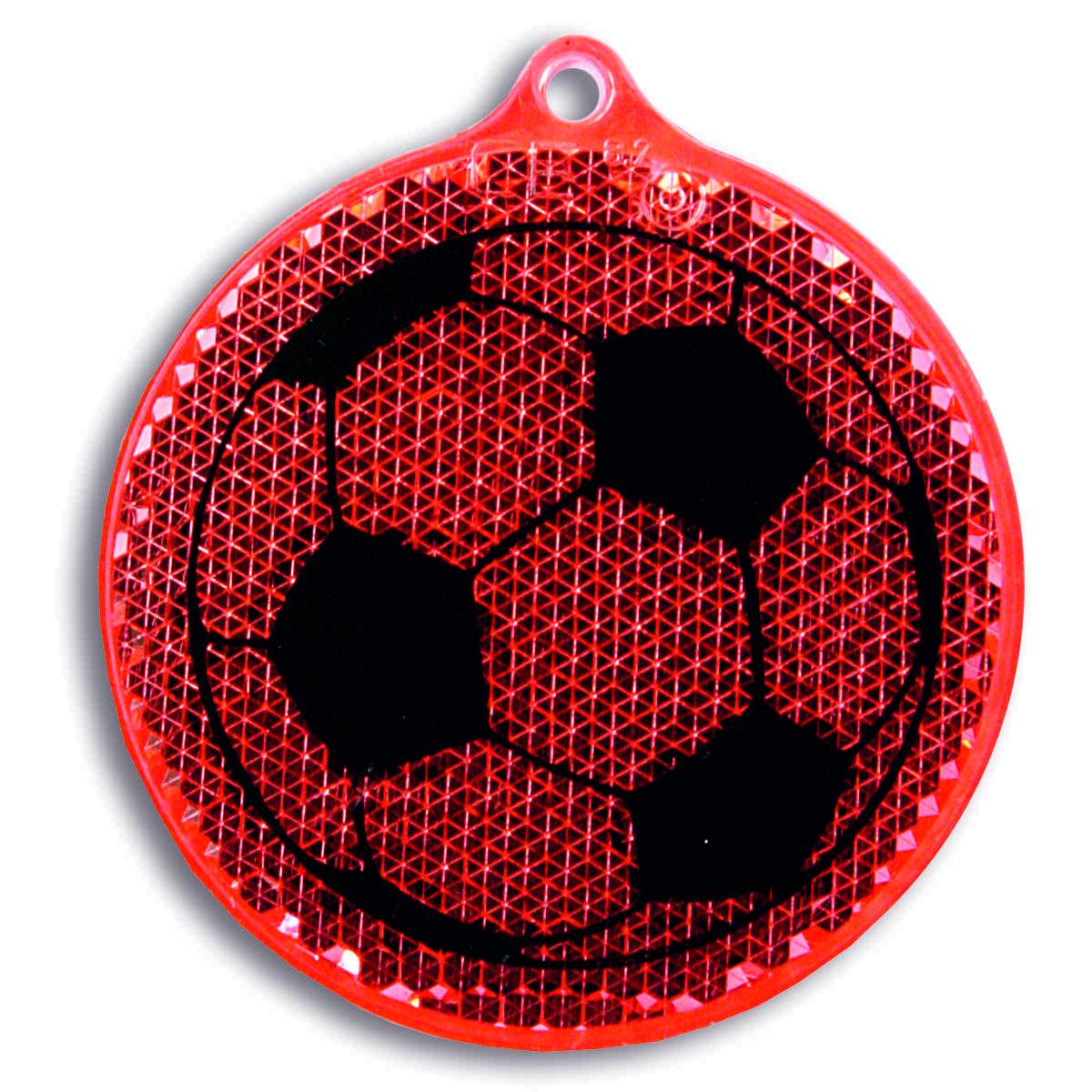 Мамасвет Светоотражатель пешеходный Мяч цвет красный51005.60Светоотражатель пешеходный Мамасвет Мяч выполнен из высококачественного материала в виде подвески. Светоотражатель должен свободно раскачиваться и быть видимым со всех сторон. В комплект со светоотражателем входит специальное крепление - шариковая цепочка. В темное время суток движущийся пешеход становится виден в свете автомобильных фар только на расстоянии 30 метров - у водителя остается всего лишь 1,3 секунды на то, чтобы среагировать. Пешеход же со светоотражателем заметен уже на расстоянии 150-400 метров, и у водителя есть целых 7 секунд, чтобы объехать его и избежать ДТП. Специалисты считают, что в темноте риск для пешехода стать жертвой ДТП или спровоцировать аварию возрастает в два раза, а у пешехода без светоотражателя он почти в десять раз выше, чем у того, кто использует это полезное изобретение.