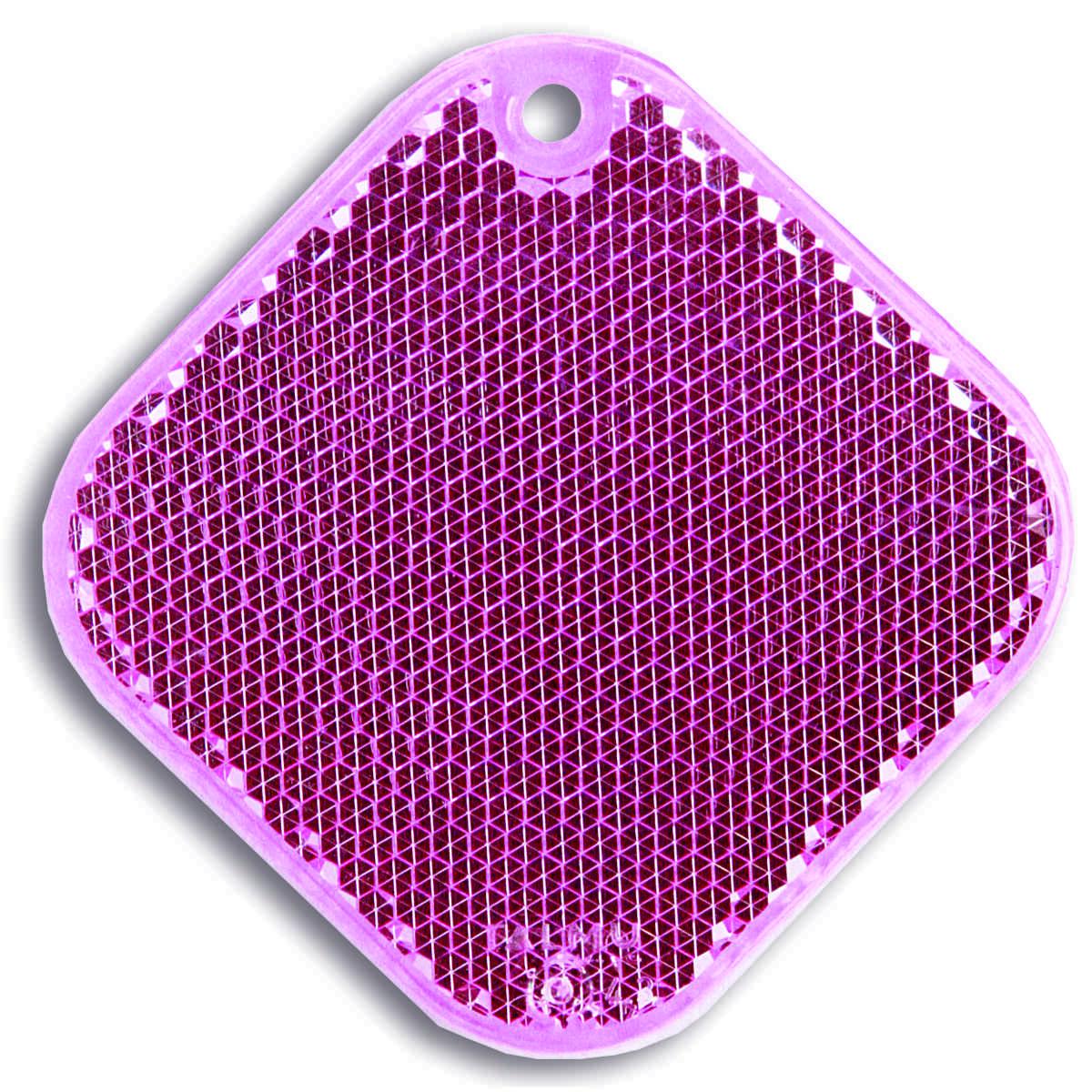 Мамасвет Светоотражатель пешеходный Ромб цвет розовый ( 51004.65 )