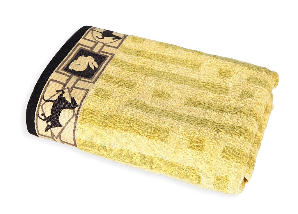 Полотенце Soavita, цвет: бежевый, 70 х 140 см43923Полотенце Soavita выполнено из жаккарда - самой красивой ткани из хлопка. Жаккардовая ткань имеет сложную структуру плетения (вертикальный и горизонтальный повтор рисунка). Поэтому такие полотенца отличаются высокой плотностью, износостойкостью и при этом необычайной нежностью. Полотенца из жаккарда - это лучший выбор продукции из хлопка! Продукция Soavita прослужит вам долго: все детали качественно прошиты, ткани очень плотные, рисунок наносится безопасными для здоровья красителями, не линяет и держится много лет.