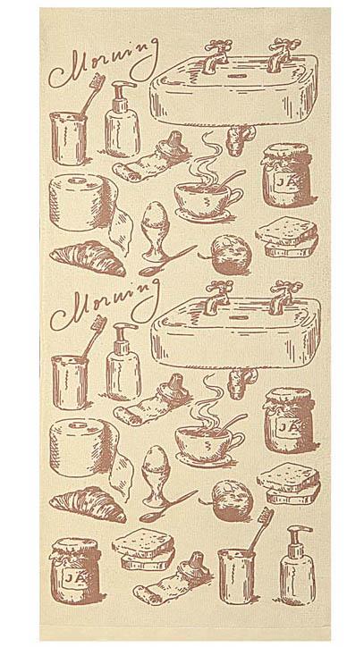 Полотенце кухонное Soavita Kitchen Mix Morning, 34 х 76 см83040Кухонное полотенце Soavita Kitchen Mix Morning, выполненное из высококачественной микрофибры (полиэстер), оформлено оригинальным рисунком. Микрофибра - материал высочайшего качества, изготовленный из сложных микроволокон, по ощущениям напоминает велюр и передающий уникальное и невероятное чувство мягкости. Ткань из микрофибры дышащая, устойчива к загрязнениям и пятнам, сохраняет свой высококачественный внешний вид и уникальную мягкость в течении всего срока службы. Изделие предназначено для использования на кухне и в столовой. Такое полотенце станет отличным вариантом для практичной и современной хозяйки.