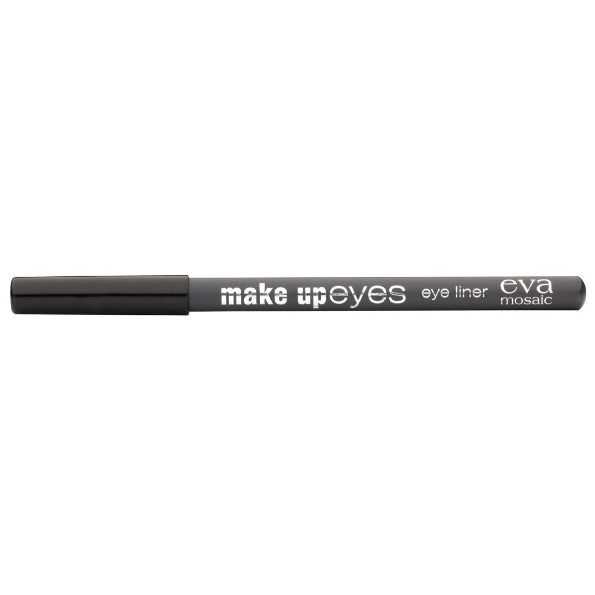 Eva Mosaic Карандаш для глаз Make Up Eyes, 1,1 г, Серый