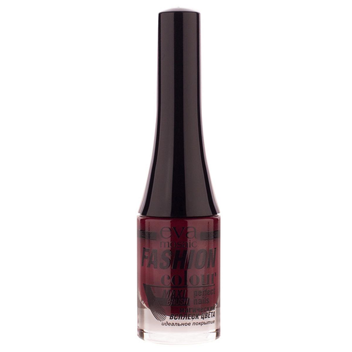 Eva Mosaic Лак для ногтей Fashion Colour, 6 мл, 040 Черешня685380Стойкие лаки для ногтей в экономичной упаковке небольшого объема - лак не успеет надоесть или загустеть! Огромный спектр оттенков - от сдержанной классики до самых смелых современных тенденций. - легко наносятся и быстро сохнут - обладают высокой стойкостью и зеркальным блеском - эргономичная плоская кисть для быстрого, аккуратного и точного нанесения.