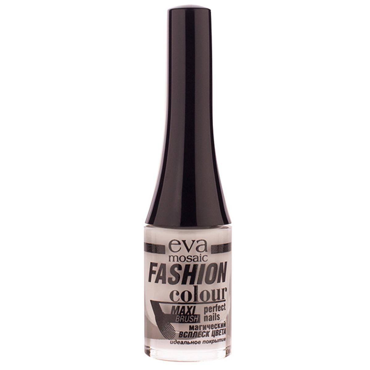 Eva Mosaic Лак для ногтей Fashion Colour, 6 мл, 053 Китайский Фарфор