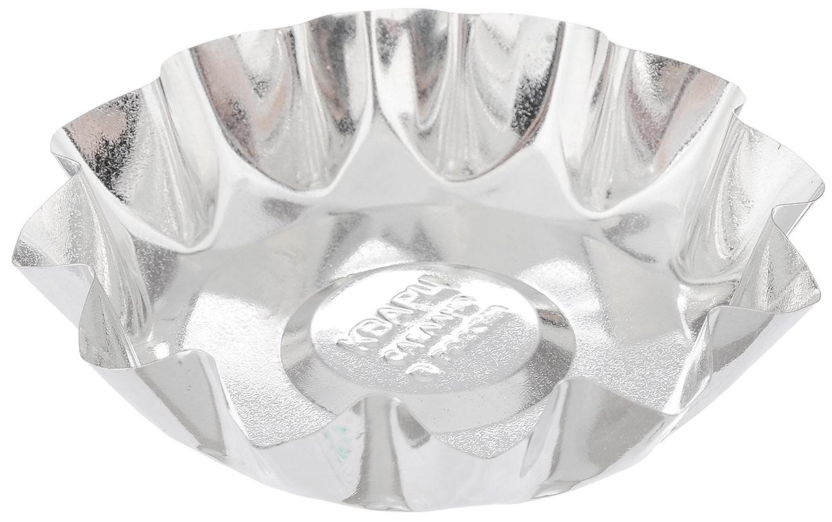 Форма для выпечки Кварц, диаметр 10 смКФ-05.000Форма Кварц, выполненная из белой жести, предназначена для выпечки и приготовления желе. Стенки изделия рельефные. С формой Кварц вы всегда сможете порадовать своих близких оригинальной выпечкой. Размер формы (по верхнему краю): 10 х 10 см. Высота формы: 2 см.