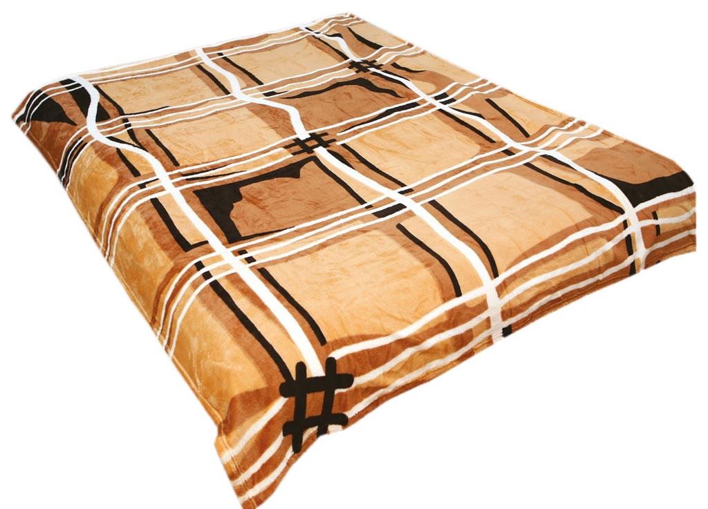 Плед Absolute, цвет: коричневый , 150 х 200 см. 3030030300плотность 300 гр/м2