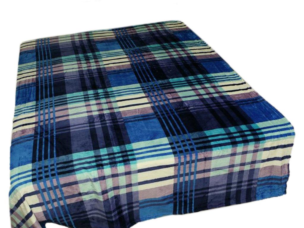 Плед Absolute, цвет: синий, серый, 180 х 230 см. 5294652946плотность 300 гр/м2