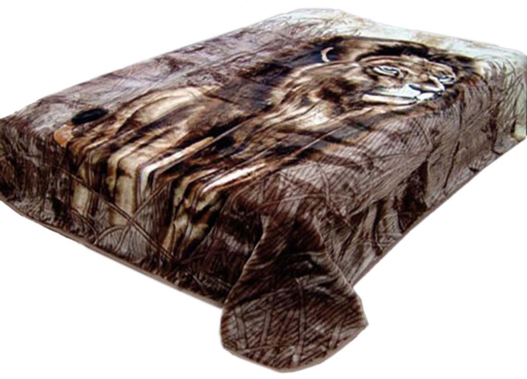 Плед Toledo, стриженый, цвет: коричневый, 200 х 240 см. 5533755337плотность 645 гр/м2