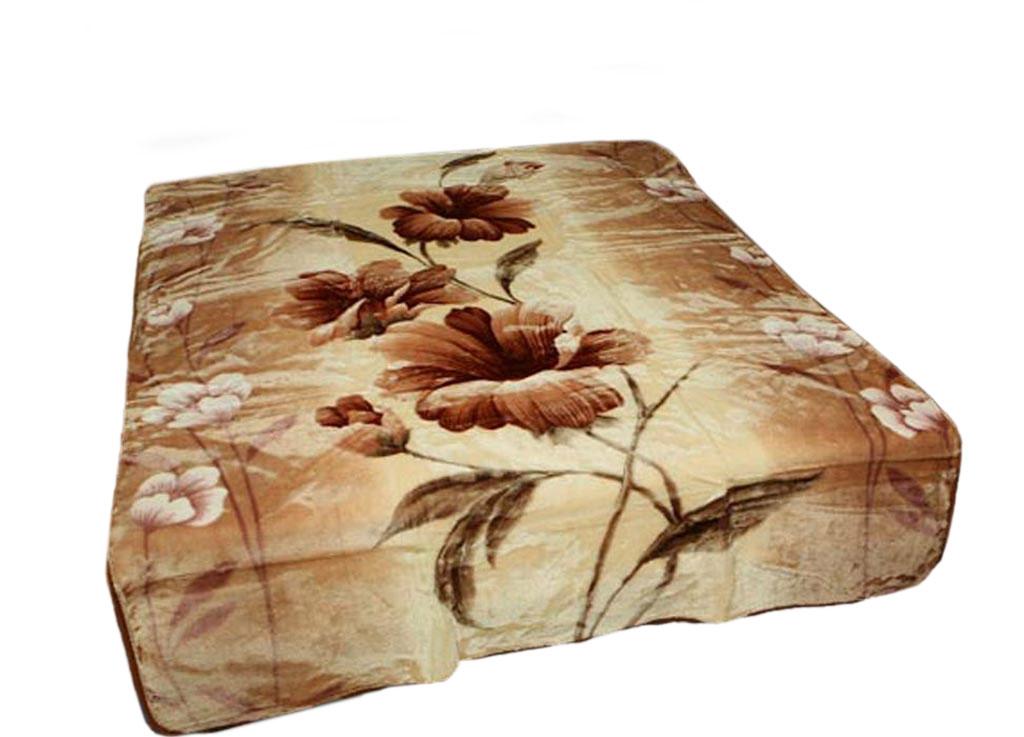 Плед Toledo, стриженый, цвет: светло-коричневый, 200 х 240 см. 5534255342плотность 645 гр/м2