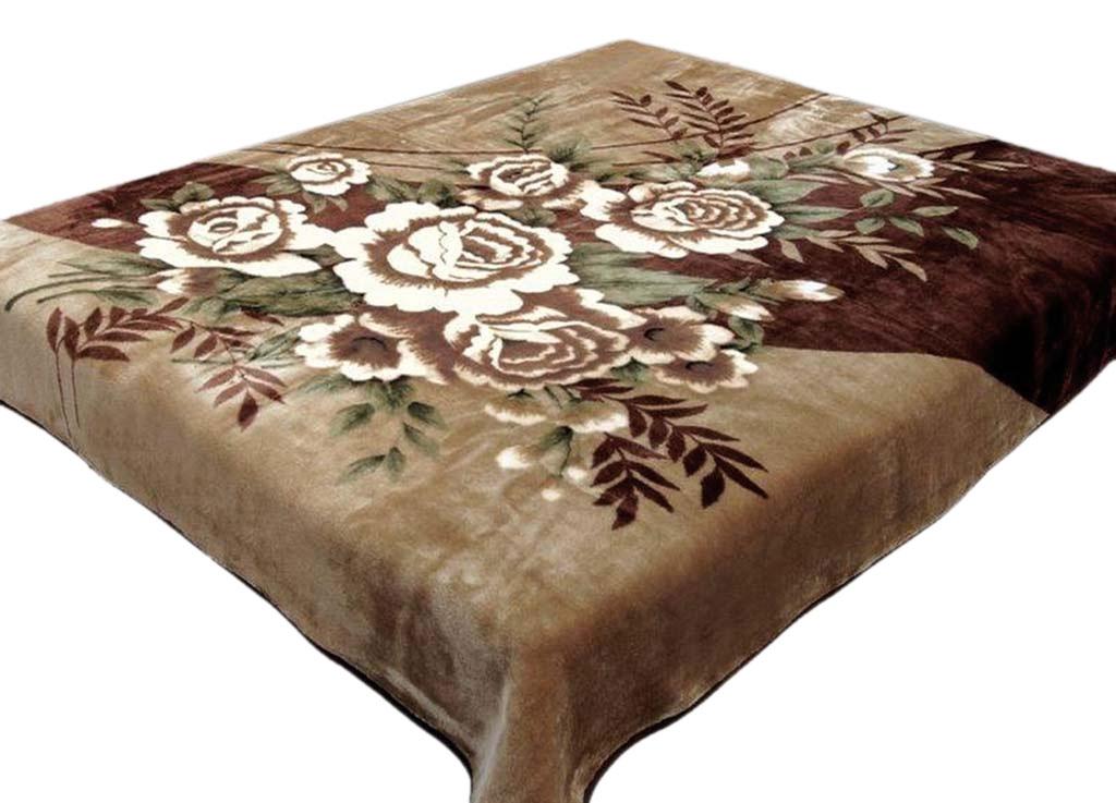 Плед Toledo, стриженый, цвет: коричневый, 200 х 240 см. 5534555345плотность 645 гр/м2