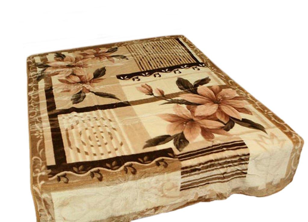 Плед Toledo, стриженый, цвет: коричневый, 200 х 240 см. 5619156191плотность 645 гр/м2