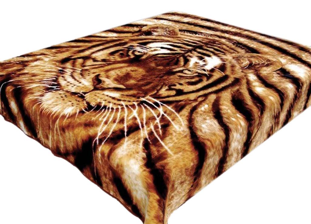 Плед Tamerlan, нестриженый, цвет: коричневый, 200 х 240 см. 5727957279плотность 500 гр/м2