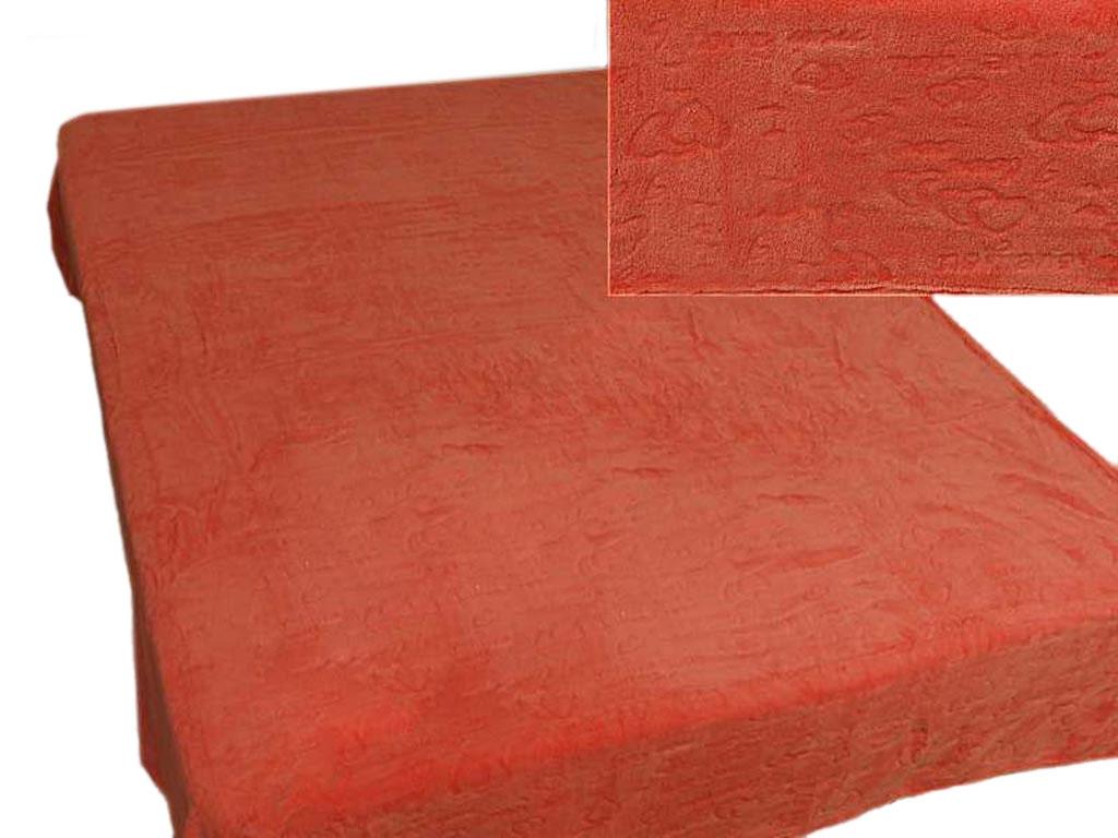 Плед Absolute, тисненый, цвет: оранжевый, 150 х 200 см. 5834058340плотность 350 гр/м2