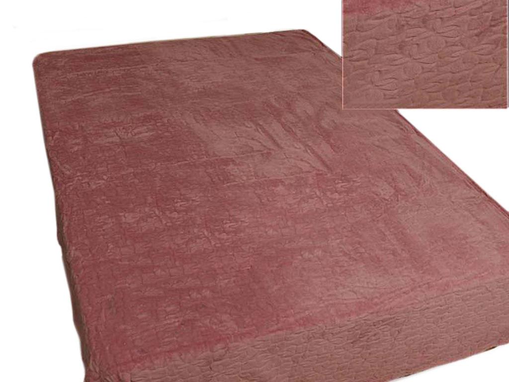 Плед Absolute, тисненый, цвет: коричневый, 150 х 200 см. 5834458344плотность 350 гр/м2