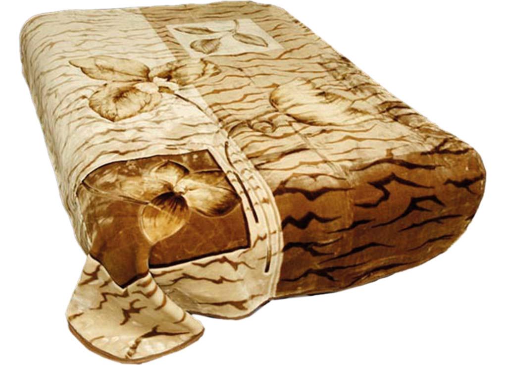Плед Tamerlan, стриженый, цвет: светло-коричневый, 200 х 240 см. 5902759027плотность 625 гр/м2