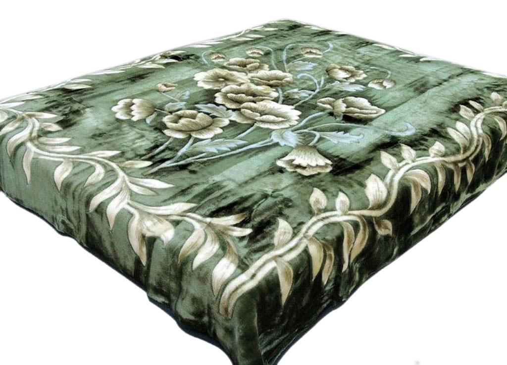 Плед Tamerlan, стриженый, цвет: зеленый, 200 х 240 см. 5903759037плотность 625 гр/м2