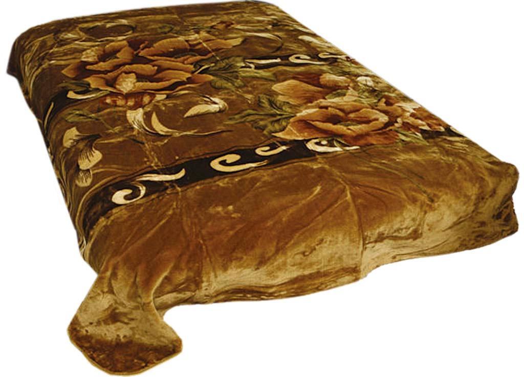 Плед Tamerlan, стриженый, цвет: коричневый, 160 х 220 см. 5982259822плотность 600 гр/м2