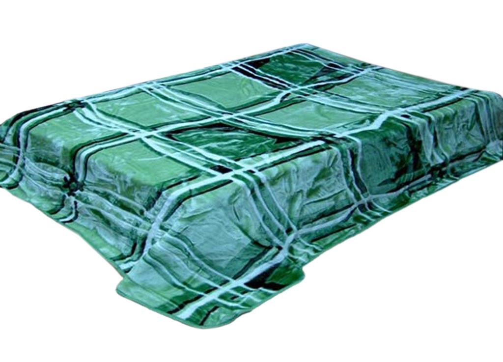 Плед Toledo, стриженый, цвет: зеленый, 200 х 240 см. 5984759847плотность 645 гр/м2