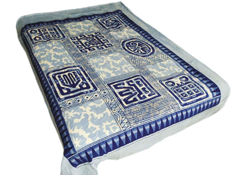 Плед Tamerlan, нестриженый, цвет: синий, 200 х 240 см. 6021560215плотность 500 гр/м2