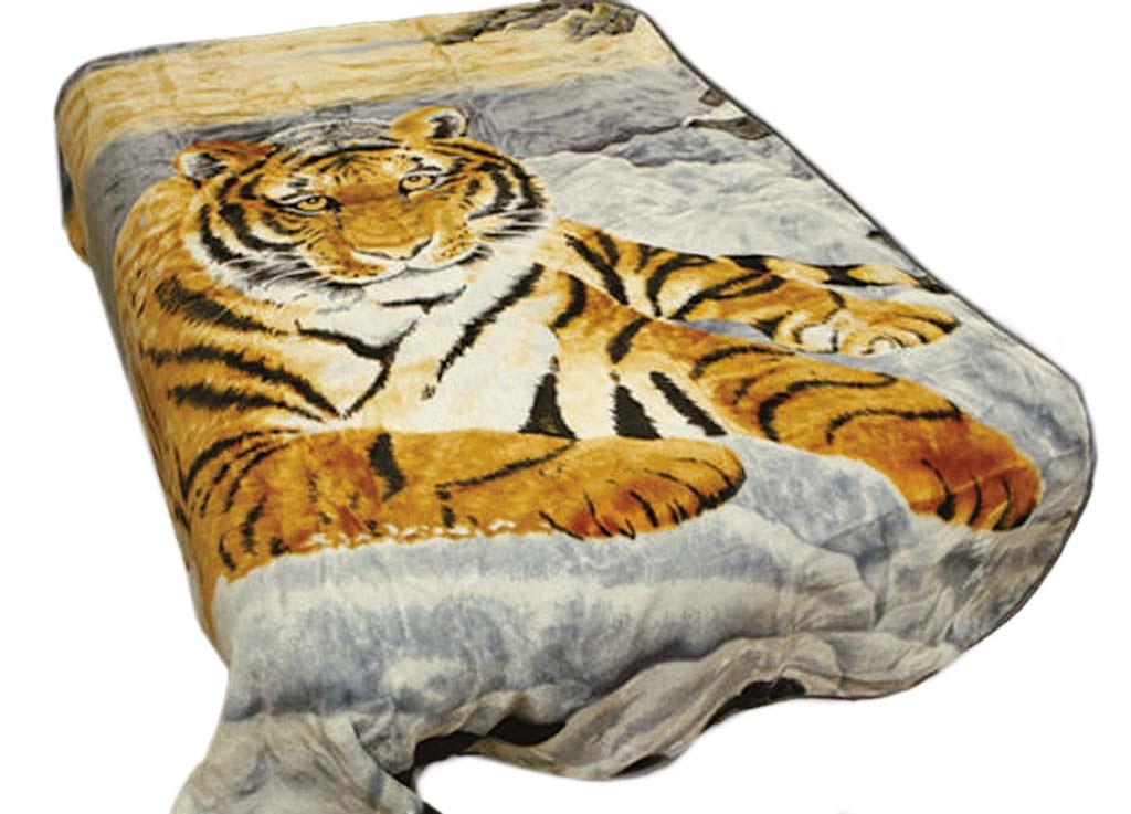 Плед Tamerlan, стриженый, цвет: коричневый, серый, 160 х 220 см. 6135261352плотность 600 гр/м2