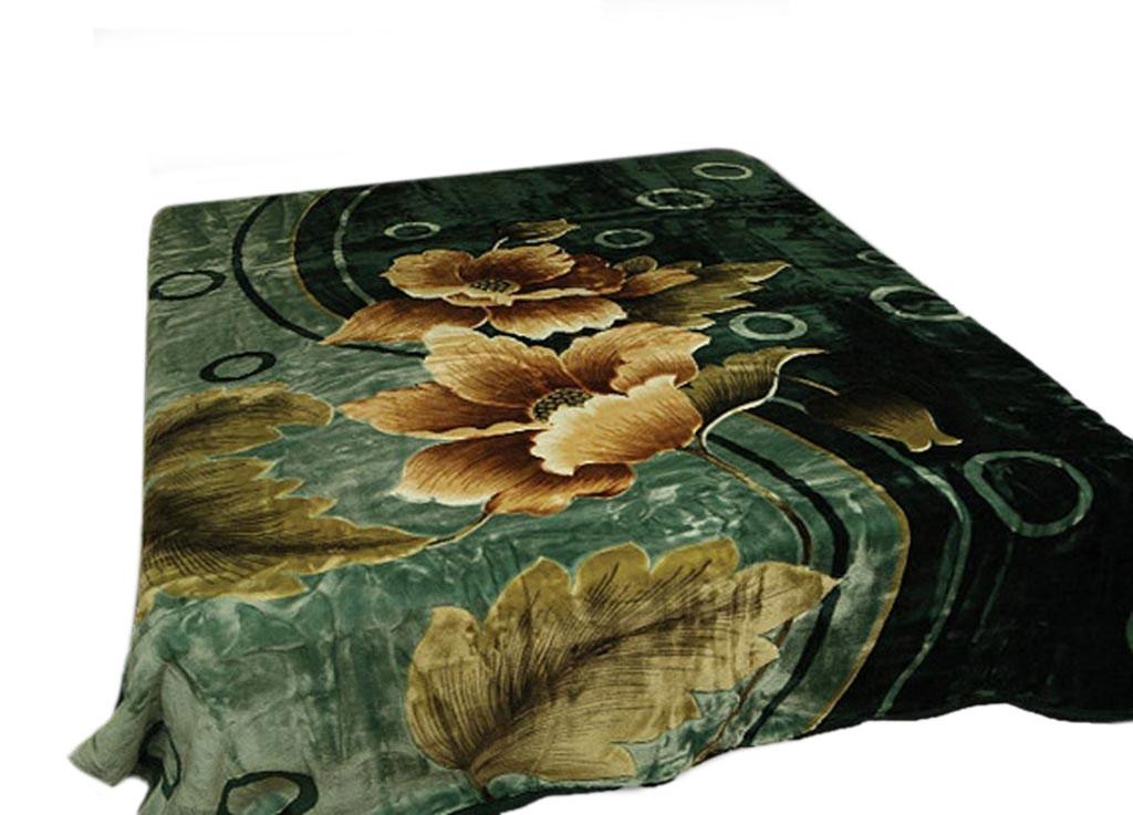 Плед Tamerlan, стриженый, цвет: зеленый, 200 х 240 см. 6288562885плотность 625 гр/м2