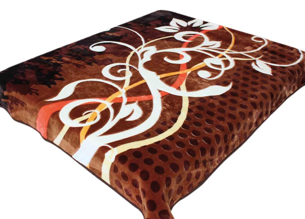 Плед Tamerlan, стриженый, цвет: коричневый, 160 х 220 см. 6433264332плотность 600 гр/м2
